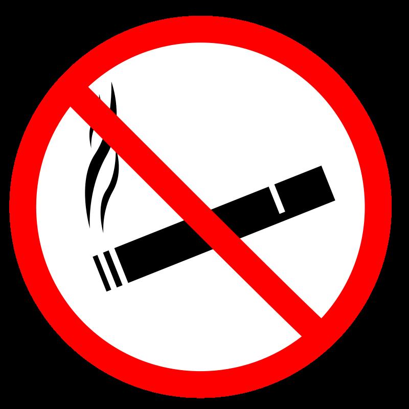 Free Clipart: No Smoke.