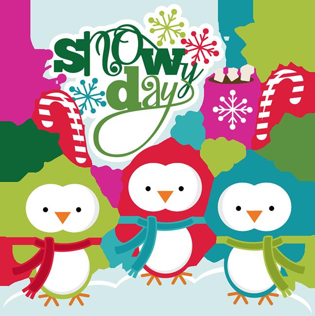 Snowy Day SVG cutting files christmas svg cuts snow svg cuttting.