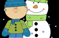 Winter Penguin Clip Art.