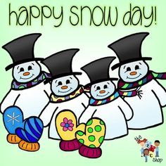 Snow Day Clipart.