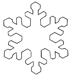Free Snowflake Clipart.
