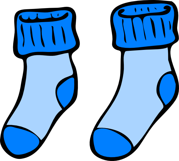 Socks sock clipart free clipart images.