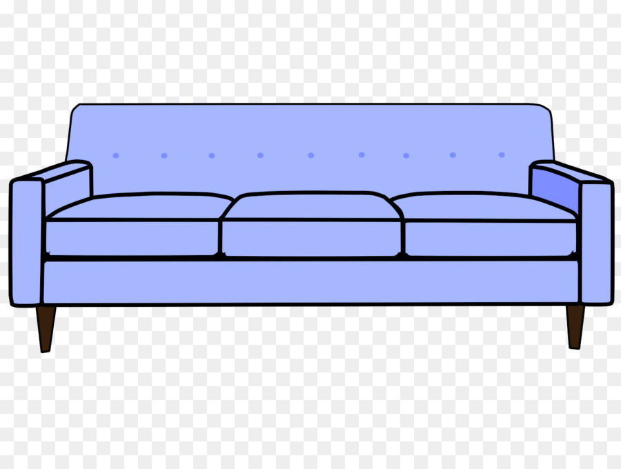 904 Couch free clipart.