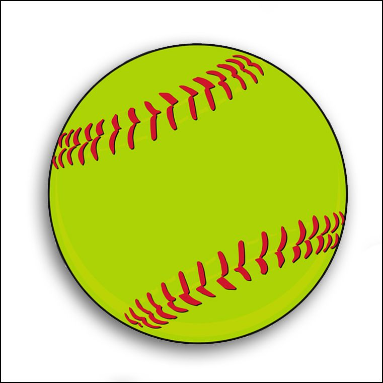 Softball clip art logo free clipart images 3 clipartcow.
