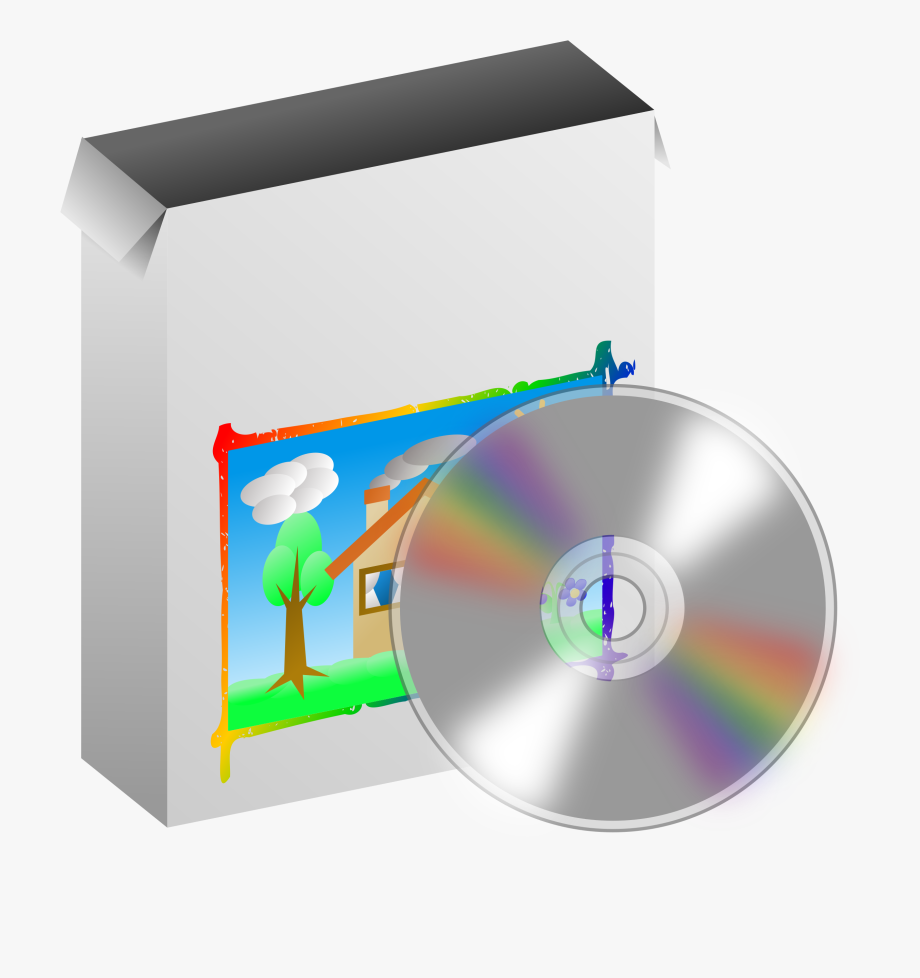 Software Clipart Disk.