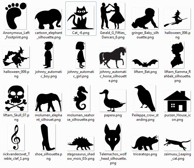 free clipart software download to use with my silhouette cameo