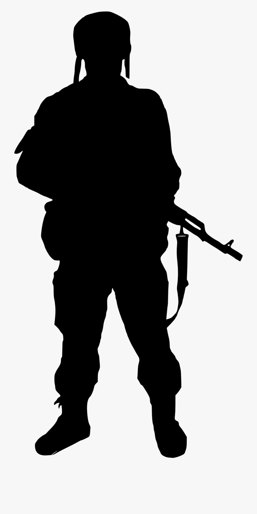 10 Soldier Silhouette.