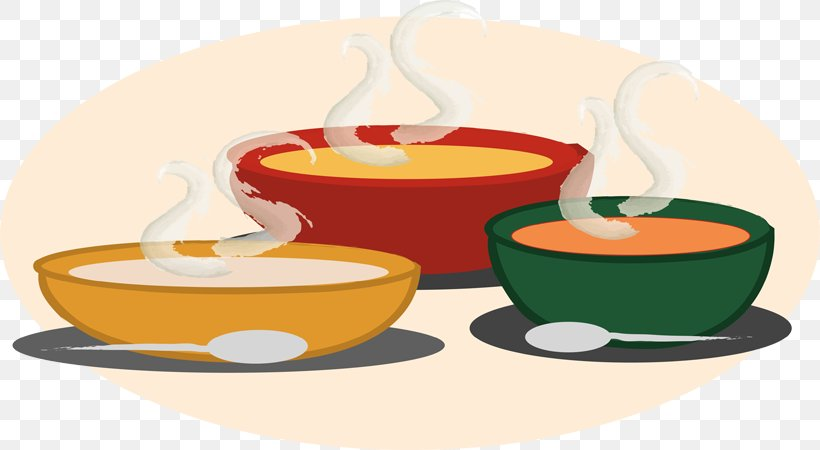 Chicken Soup Mixed Vegetable Soup Hot And Sour Soup Clip Art.