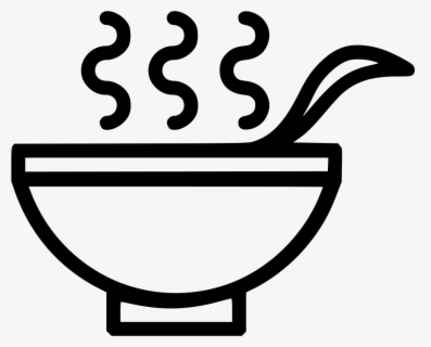 Free Soup Bowl Clip Art with No Background.