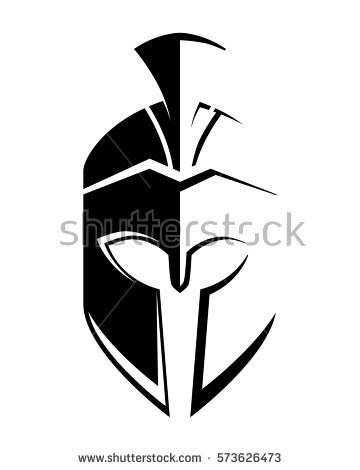 Spartan Helmet Stock Images, Royalty.
