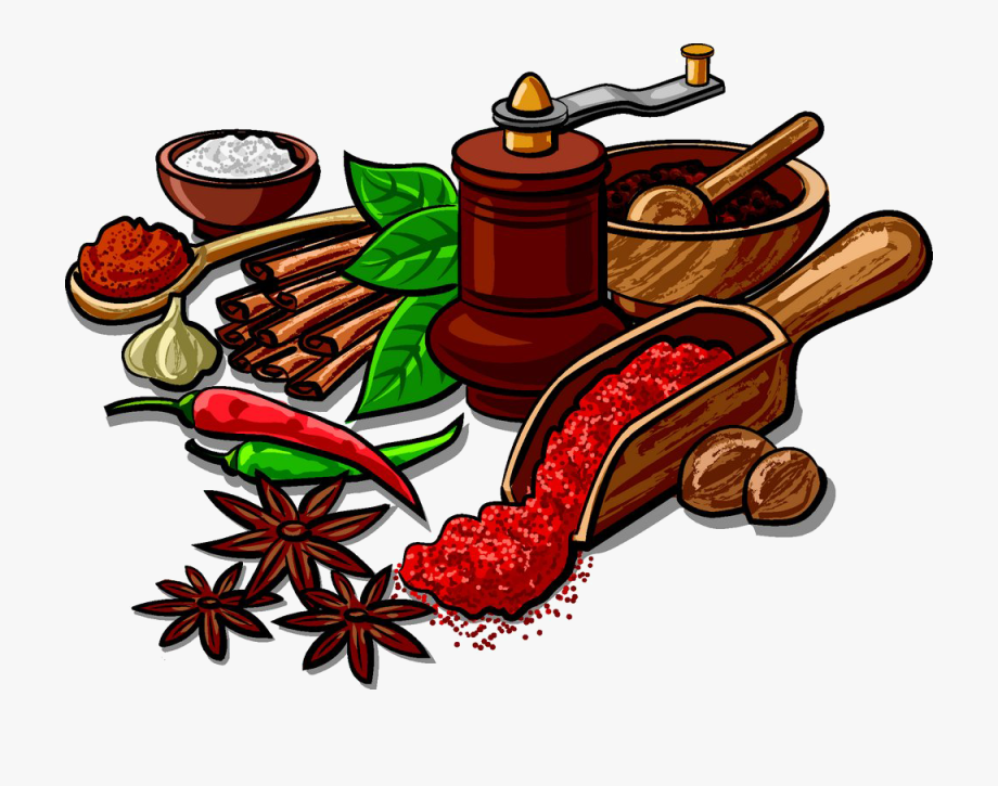 Herbs And Spices Clipart , Transparent Cartoon, Free.