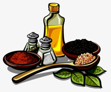 Free Spices Clip Art with No Background.