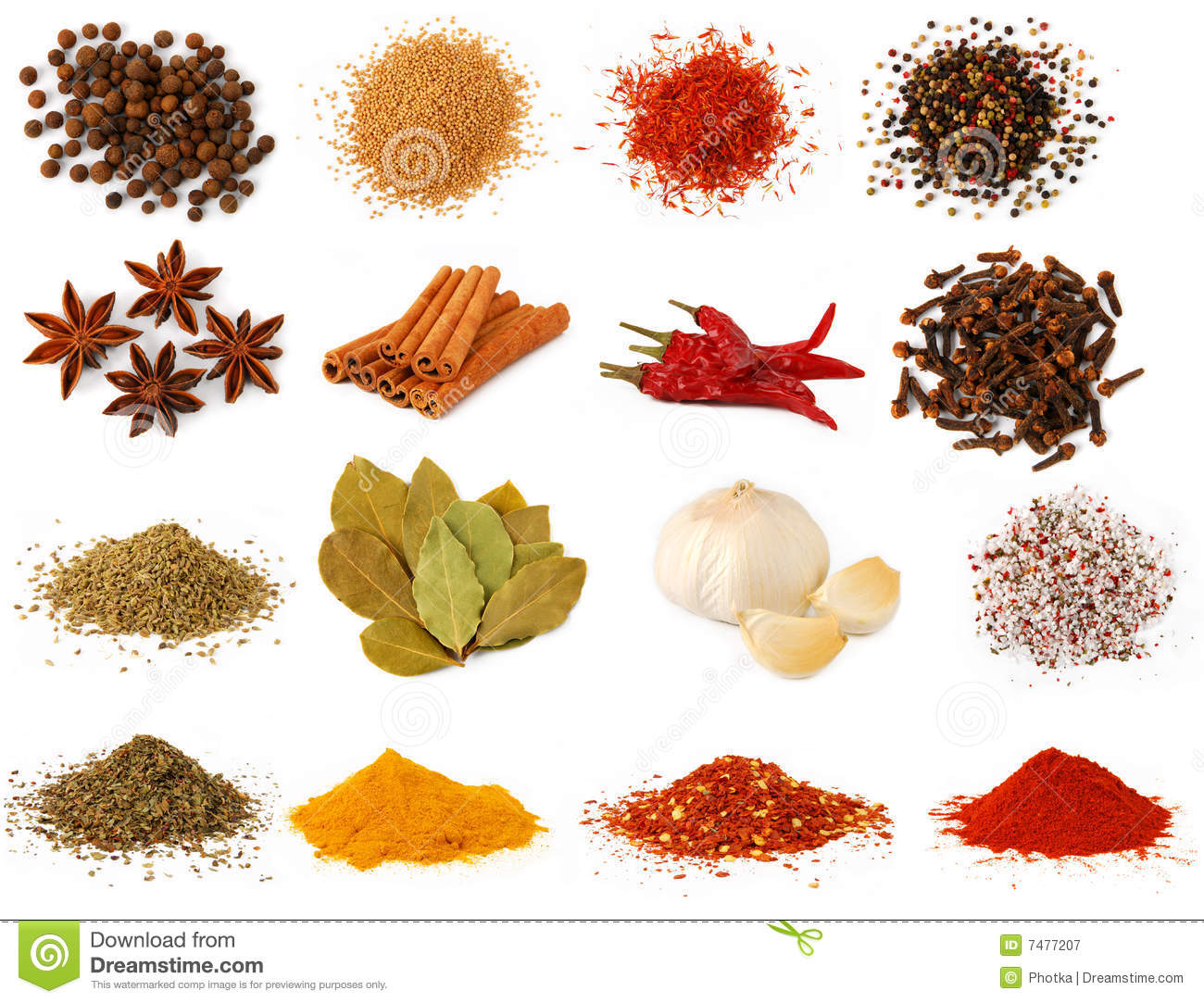 Free Clipart Spices Herbs.