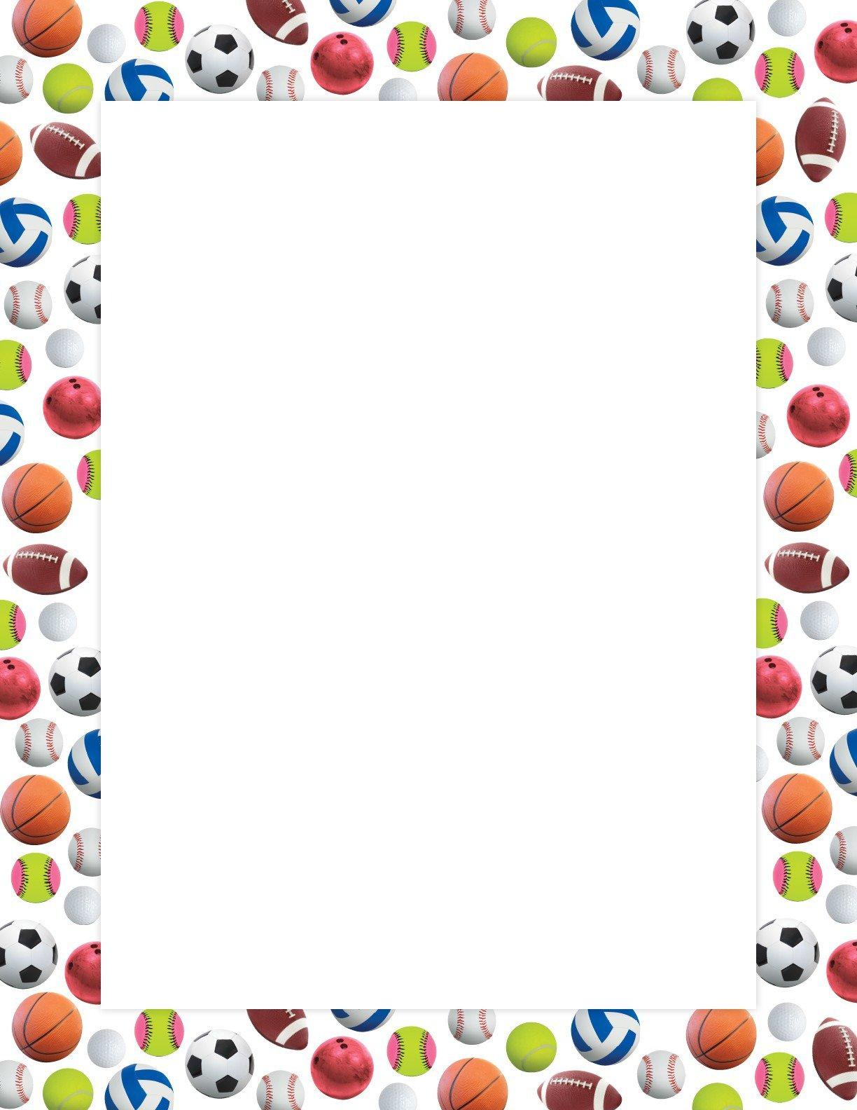 Sport Border Free Download Clip Art.