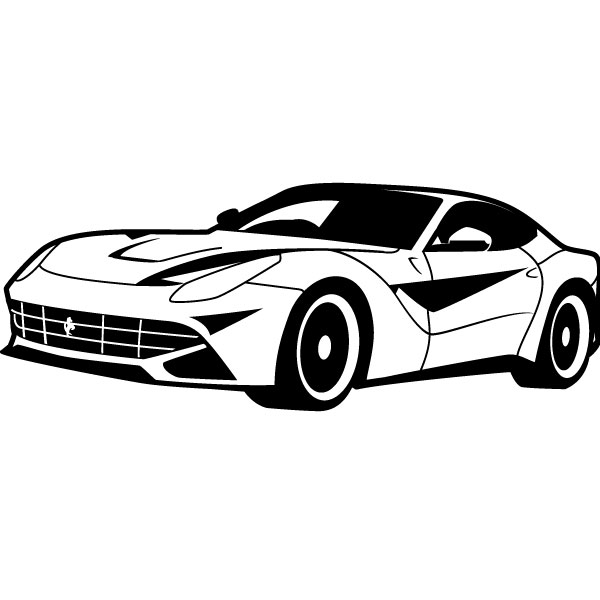 Free Sports Car Vector, Download Free Clip Art, Free Clip.