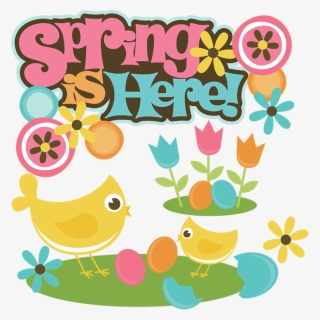 Free Happy Spring Clip Art with No Background.