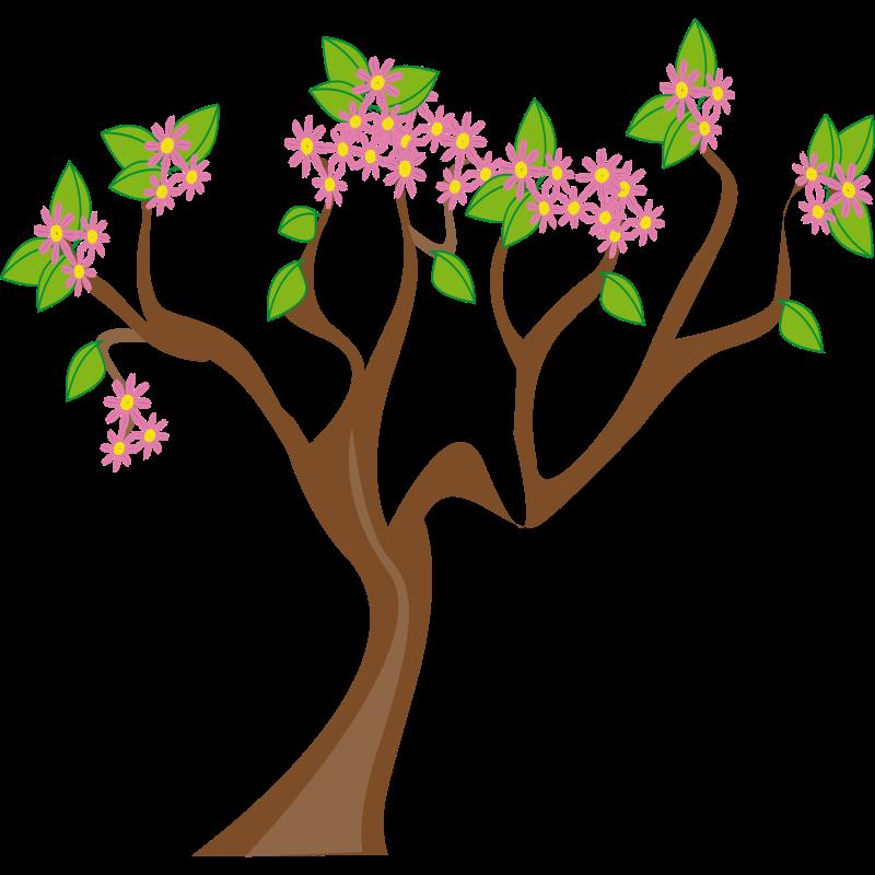 Spring Tree Clip Art.