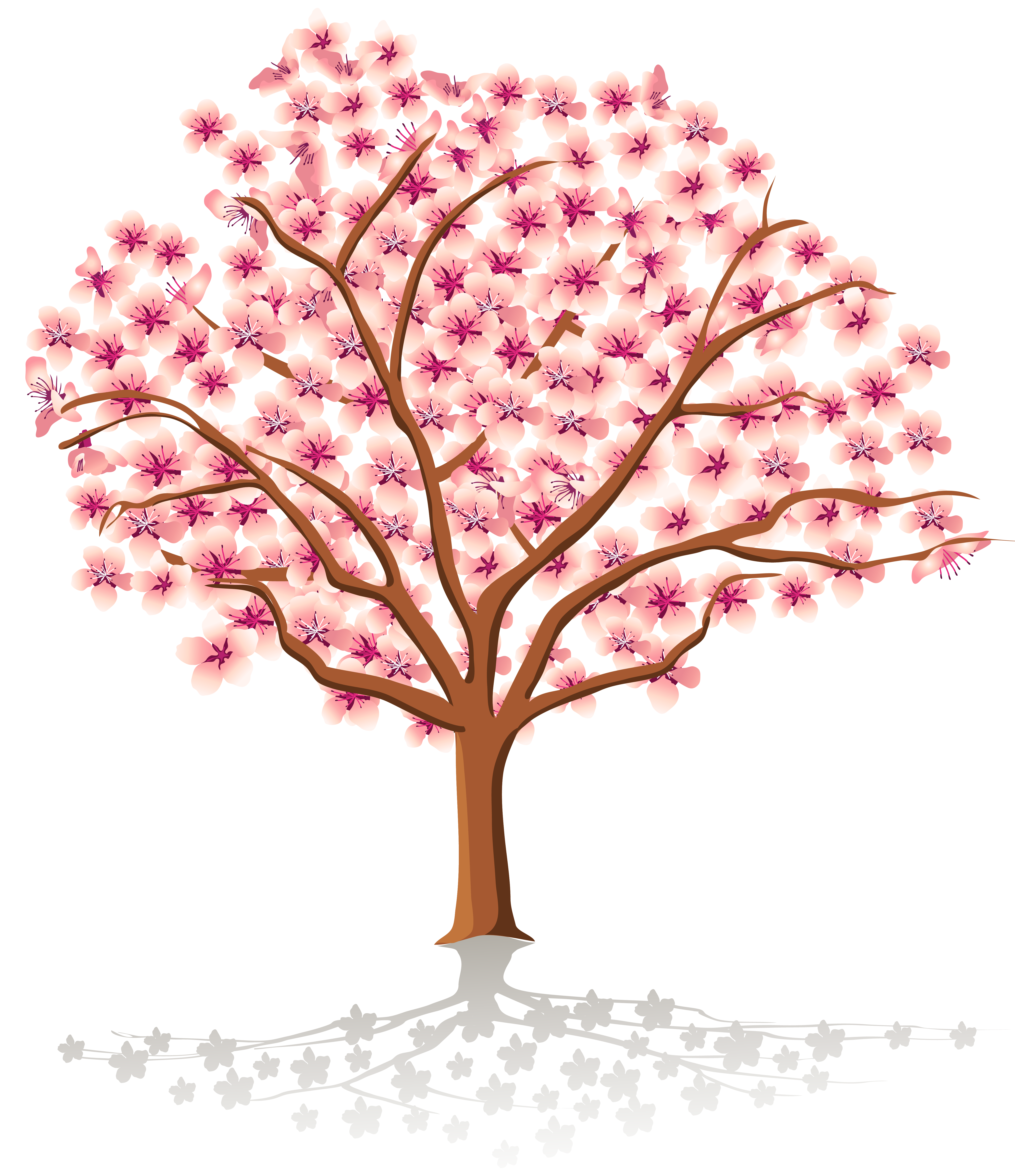 Transparent Spring Tree PNG Clipart.
