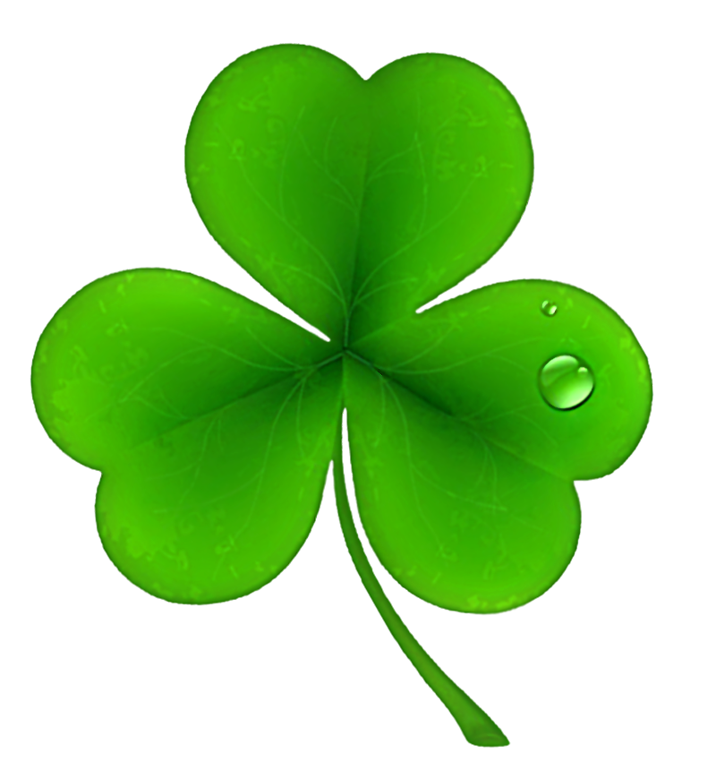 St Patricks Day Shamrock Clover PNG Clipart.