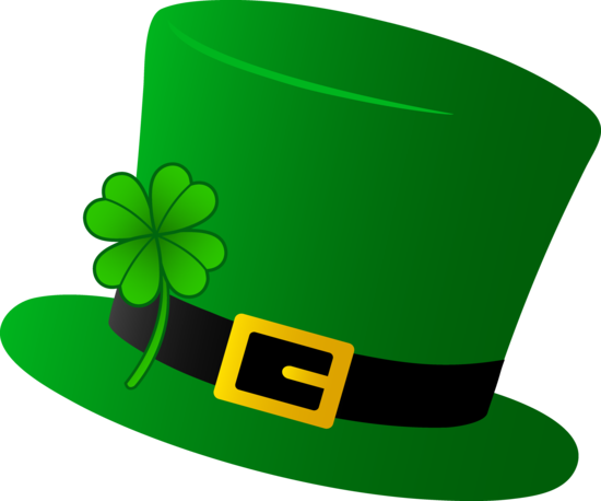 Green Saint Patricks Day Hat.