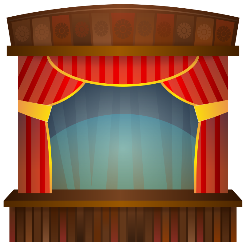 Free Clipart: Stage.