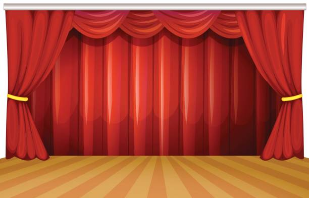 2529 Stage free clipart.