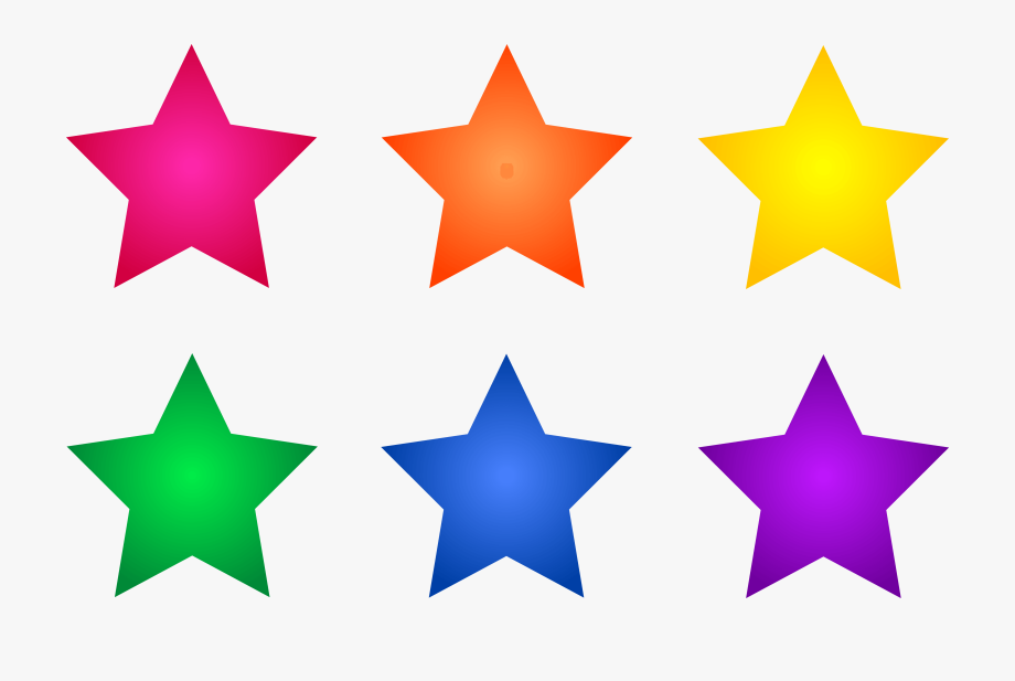 Gold Star Clipart No Background Free Clipart Image.