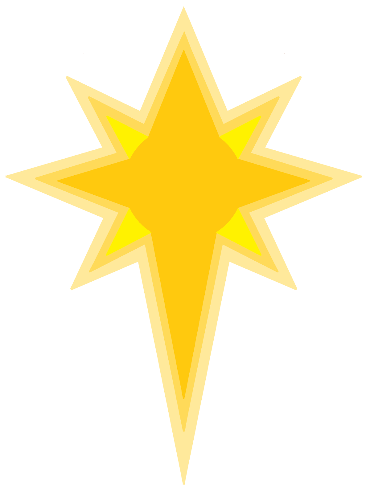 star of bethlehem clipart.