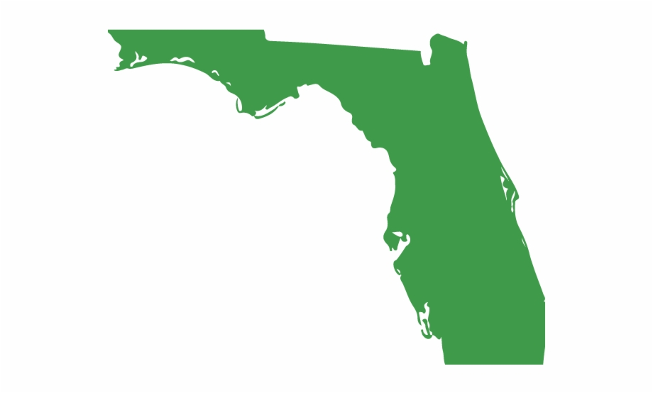 Collection Of Free Florida Vector Sunshine State Map.