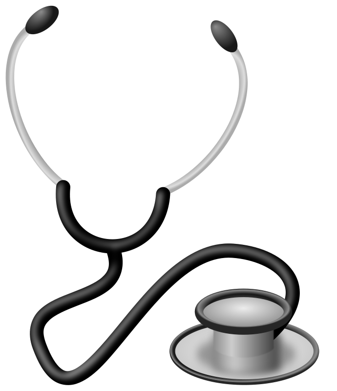 Free Clipart: Stethoscope.