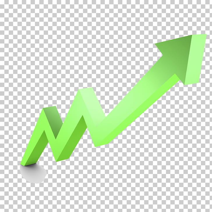 Arrow , Stock Market Graph Up File, green arrow chart PNG.