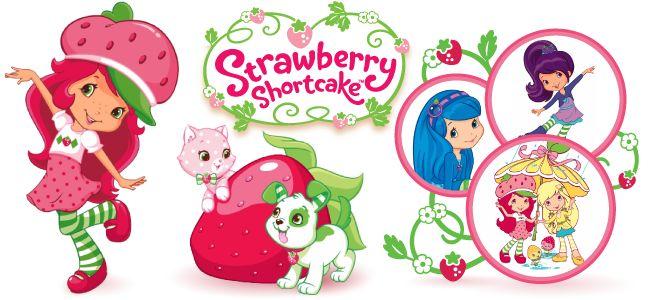 Best Strawberry Shortcake Clipart #10557.