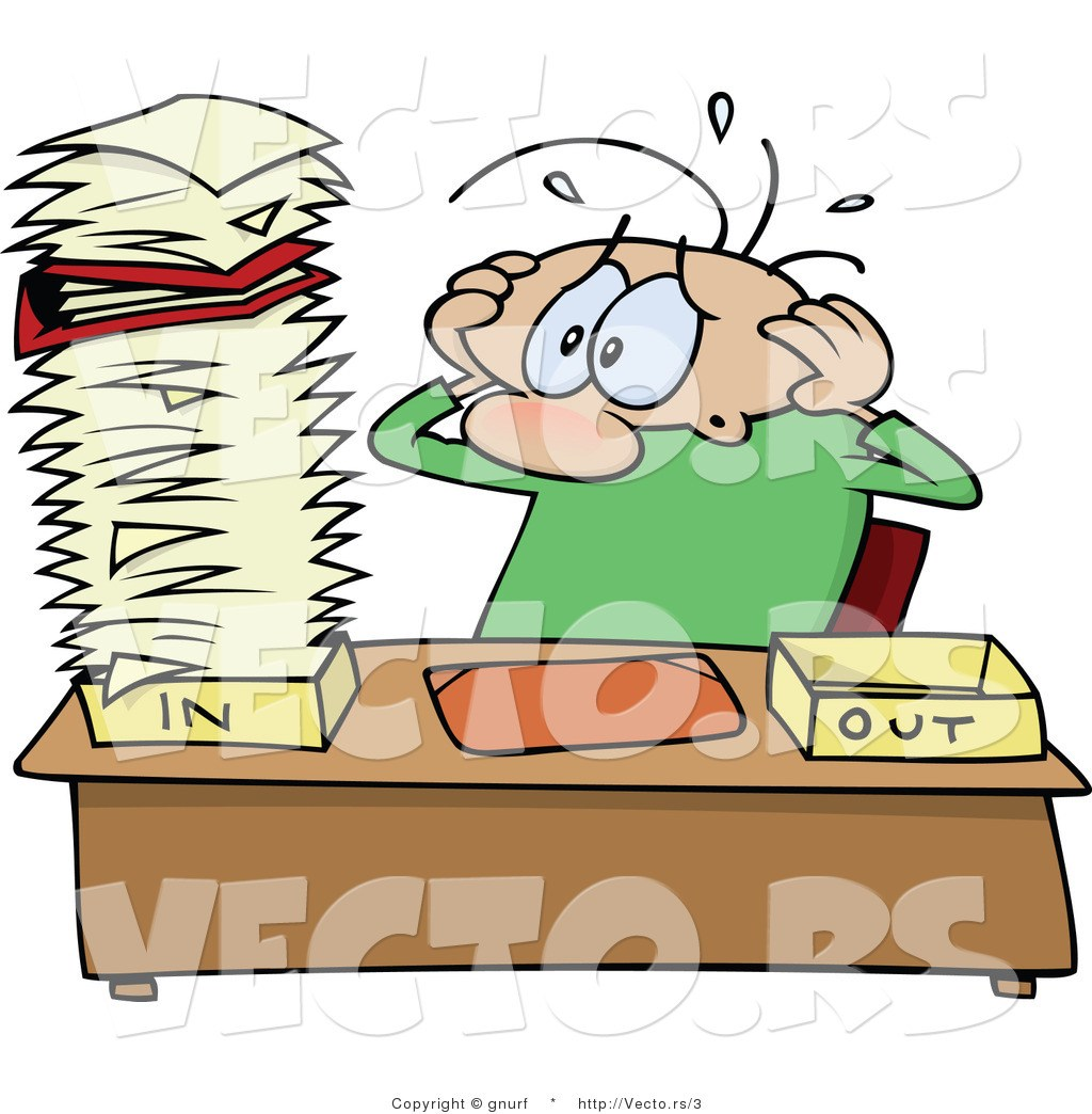 Free clipart stressed office worker 7 » Clipart Portal.
