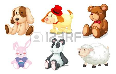 4,946 Stuffed Animal Stock Vector Illustration And Royalty Free.