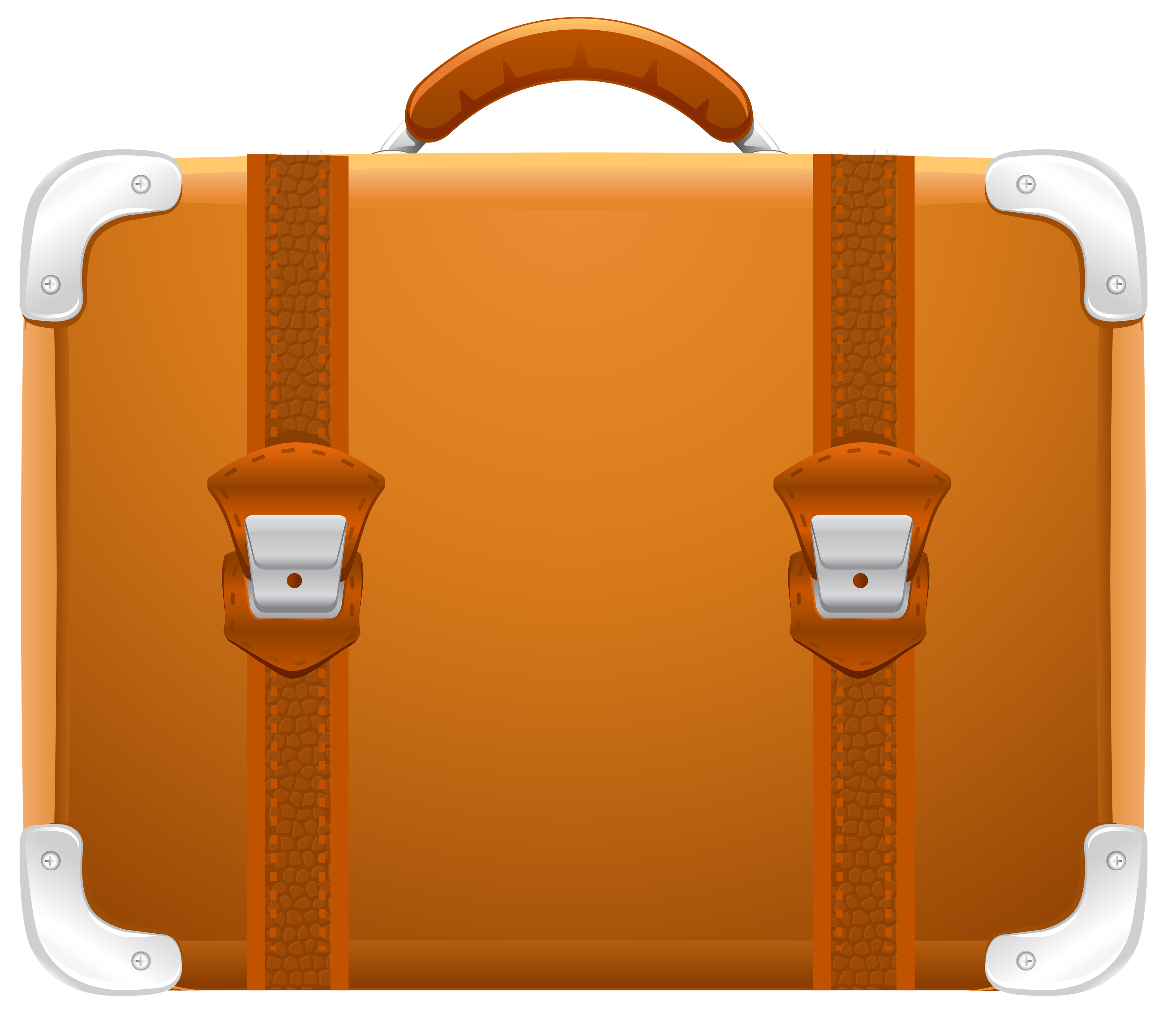 Suitcase PNG Clipart Image.