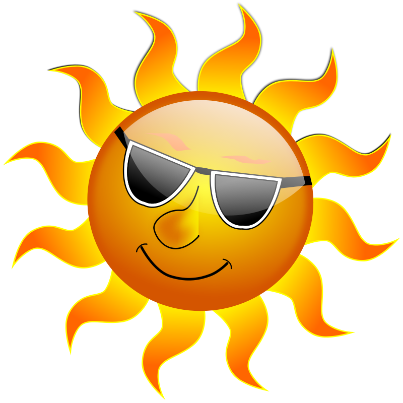 Free Clipart: Summer Smile Sun.