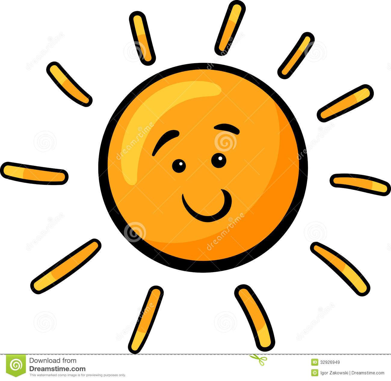 Cute Sun Clipart.