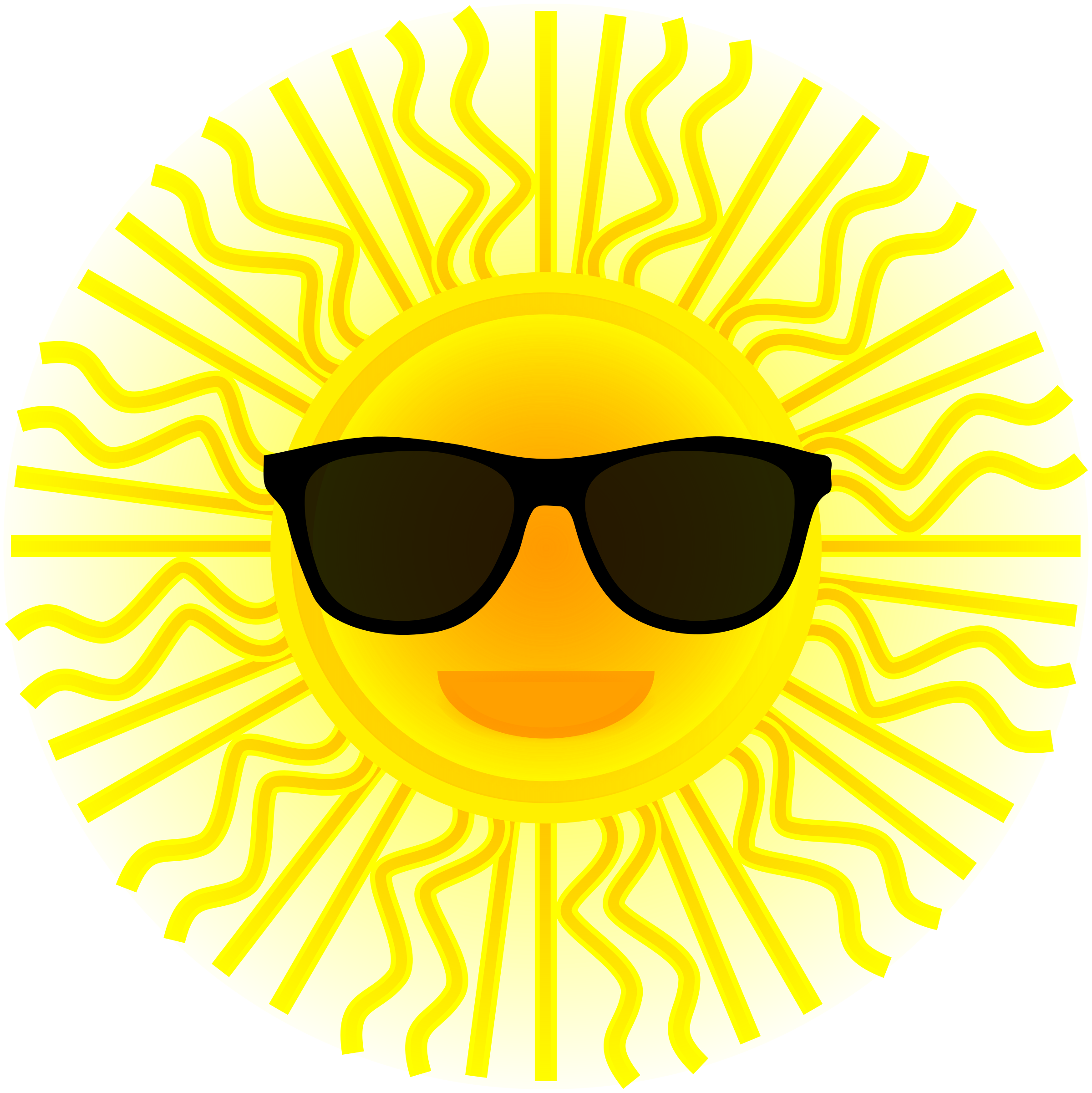 Sun with sunglasses file sun wearing sunglasses svg mediamons.