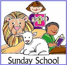 Free Sunday School Clipart.