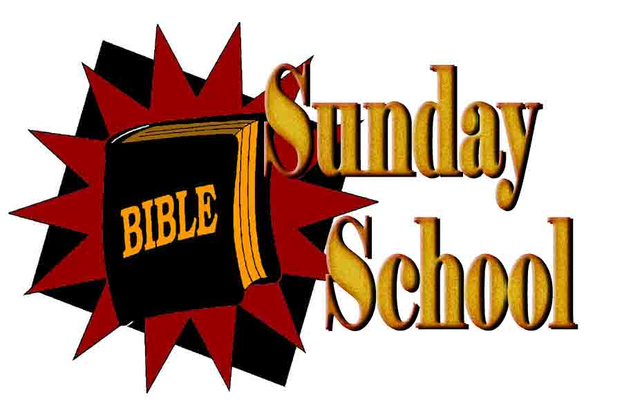 Sunday School Clip Art.