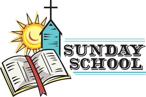 Adult Sunday School Clipart.