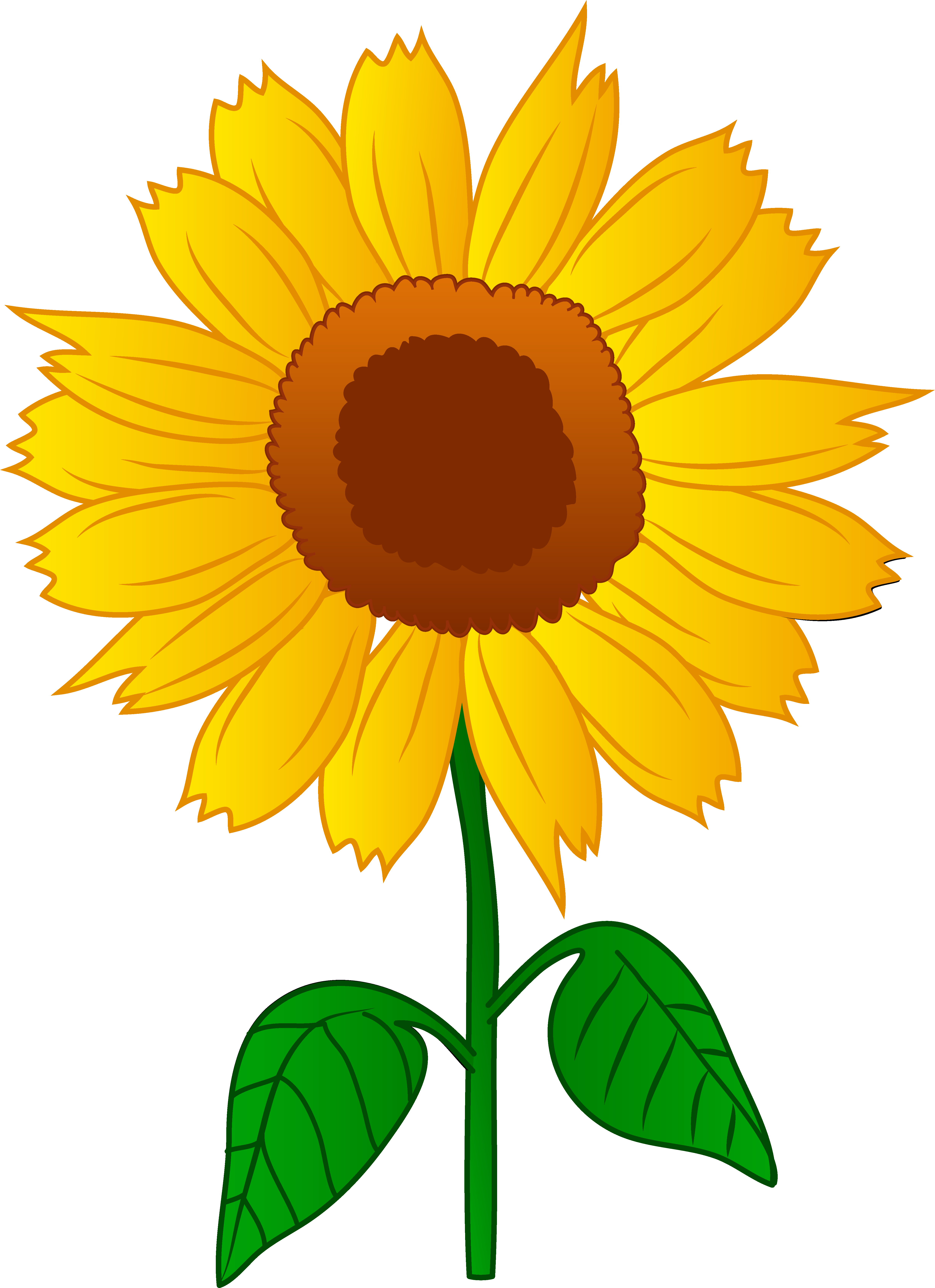 Free Free Sunflower Clipart, Download Free Clip Art, Free.