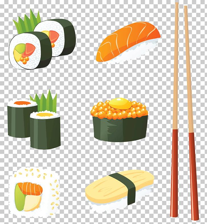Sushi Japanese Cuisine Seafood , Japanese Sushi , assorted.