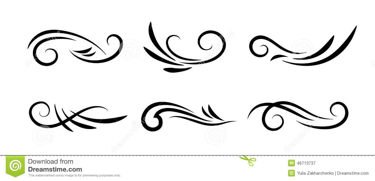 Decorative Swirls Vector at GetDrawings.com.