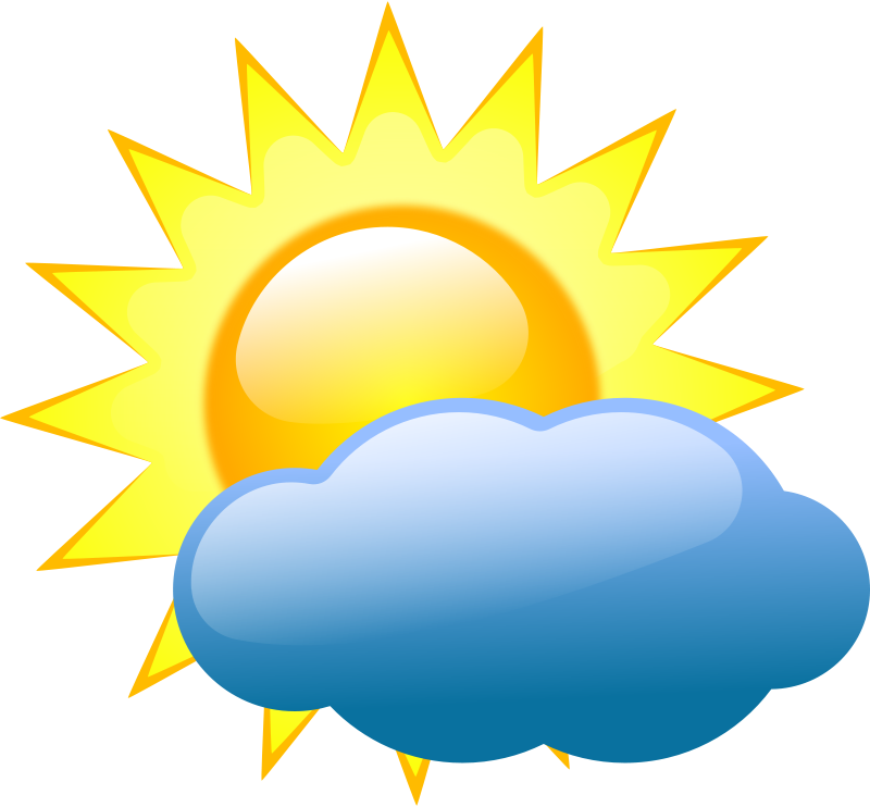 Free Clipart: Weather symbols 2.