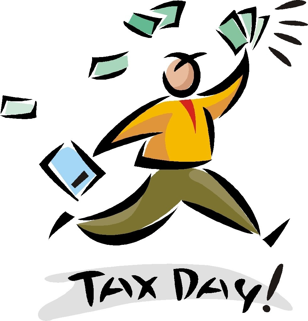 Tax Day Clip Art N2 free image.