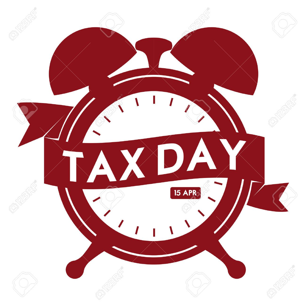 1,780 Tax Day Stock Illustrations, Cliparts And Royalty Free.