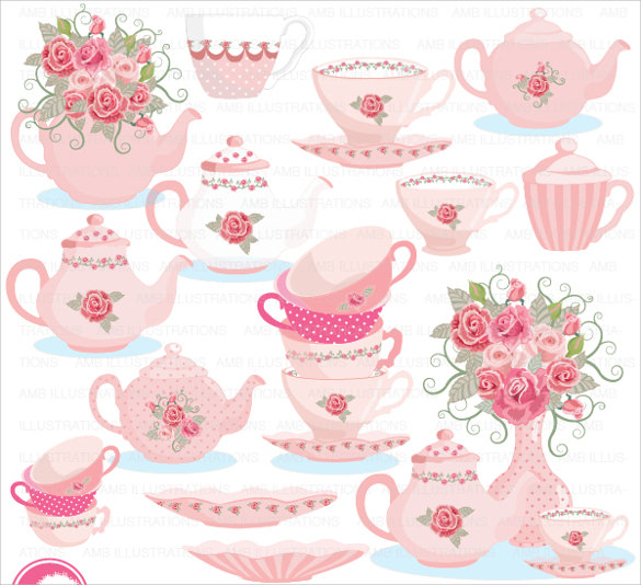 tea party invitations free download.