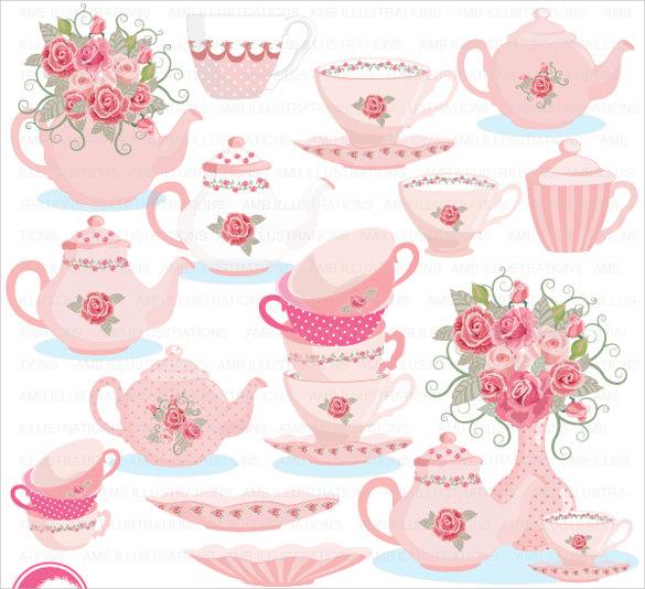 tea party invitations free download.