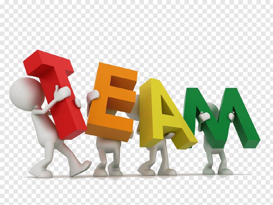 Team illustration, Team building Organization Communication.